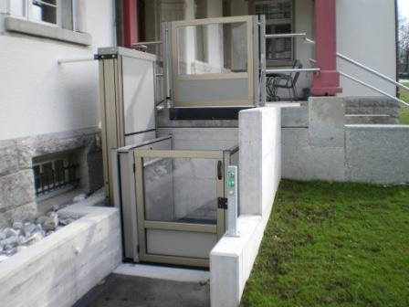 Elevateurs pour pmr el vateur vertical for Ascenseur maison particulier